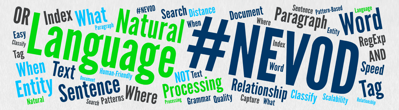 Nevod: Technology for Pattern-Based Natural Language Processing cover image